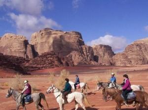 rando cheval jordanie