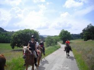 toscane a cheval