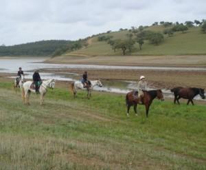 rando a cheval au portugal