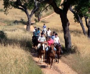 trek a cheval au portugal