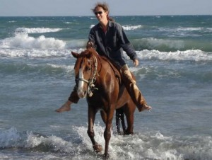 equitation en camargue