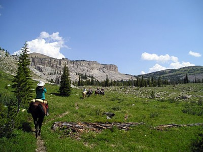 Randonnee à cheval USA Montana Bob Marshall Wilderness