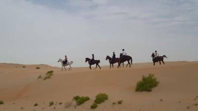 Rando à cheval Emirats - Abu DHABI Desert Ride