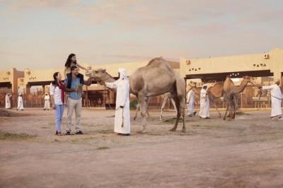 Randonnée à cheval désert Emirats Arabes unis- Abu DHABI Desert Ride