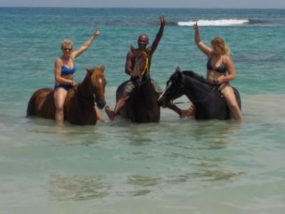 randonnée a cheval république dominicaine caraibes