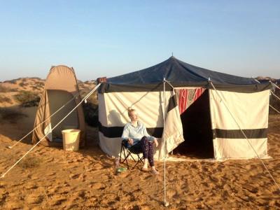 Rando à cheval Désert Abu Dhabi - Emirats Arabes Unis Voyage à cheval Camping