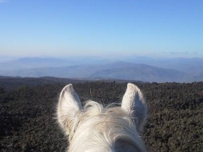 randonnee equestre en italie