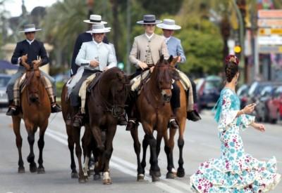 rando cheval andalousie
