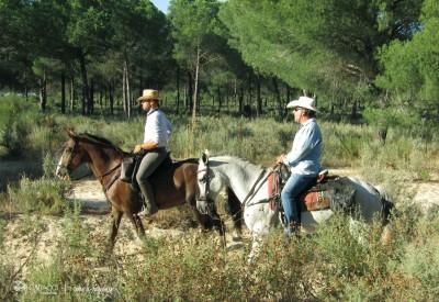voyage cheval andalousie