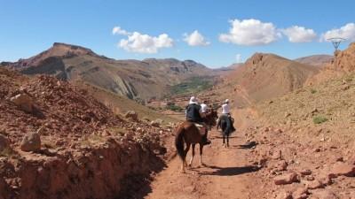 randonnee equestre au maroc
