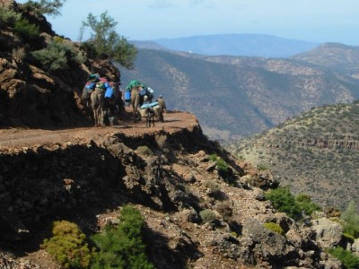 trek a cheval maroc