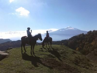 randonnee equestre en sicile