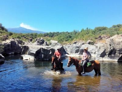 randonnee equestre sicile