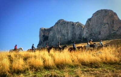 voyage a cheval sicile