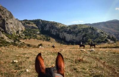 trek a cheval sicile
