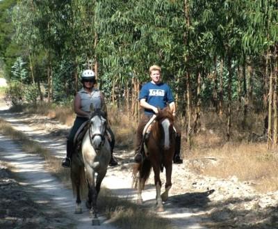 randonnee equestre au portugal