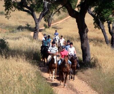 randonnee a cheval au portugal