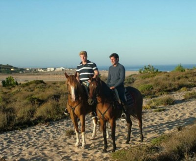 vacances a cheval au portugal