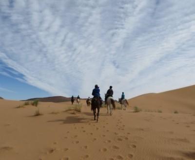 randonnee equestre maroc