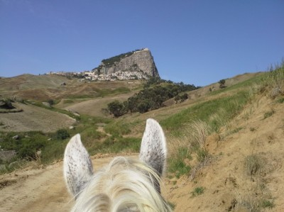 Horseback Trail Ride in ITALY: CROSSING SICILY FROM THE NORTH TO THE SOUTH COAST