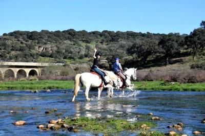 Randonnée à cheval ESPAGNE : RANDONNEE DES CONQUISTADORS EN EXTREMADURE