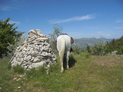 randonnee a cheval provence
