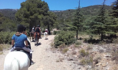 Short Rides in PROVENCE - From 1 Hour to 1 Day Ride : LUBERON NATURE PARK
