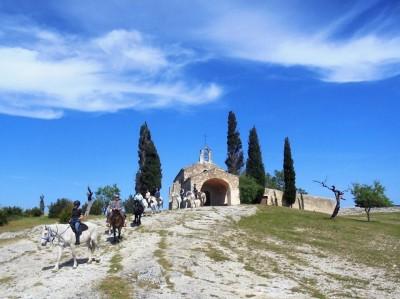 randonnee cheval provence