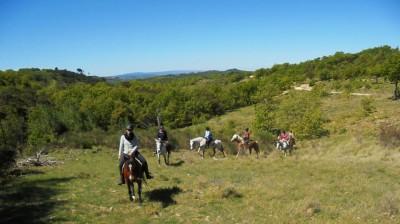 Rando cheval LUBERON : TROIS JOURS LUBERON & COLORADO PROVENCAL