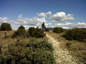 randonnee a cheval sur les cretes du luberon