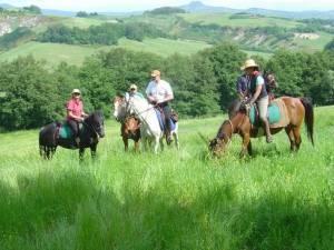 voyage a cheval toscane