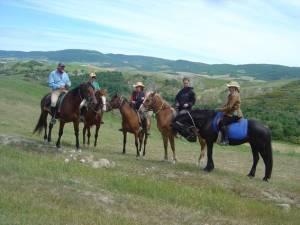 rando cheval italie