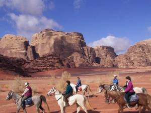 rando cheval en jordanie
