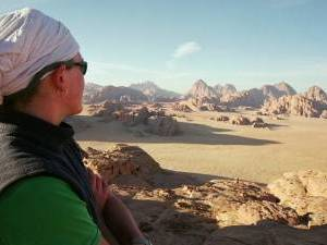 randonnee equestre en jordanie