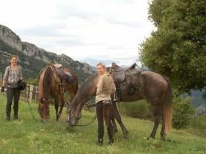 randonnee equestre pyrenees