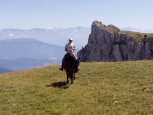 randonnee a cheval vercors