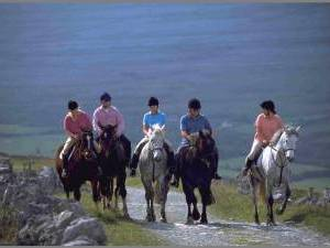 trail ride in ireland