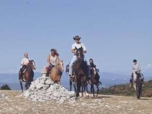 randonnee a cheval dans le sud