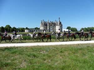 Randonnee Equestre CHATEAUX DE LA LOIRE : RANDONNEES DE 2 JOURS - 3 NUITS