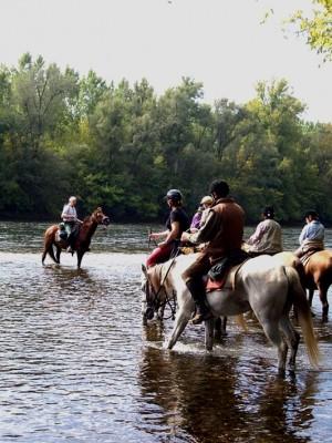 voyage a cheval perigord
