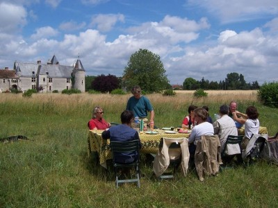 loire castles on horseback