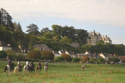 loire valley horse riding