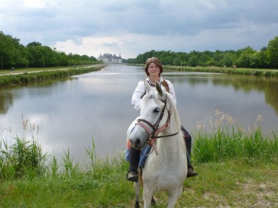 horseback trail ride loire valley