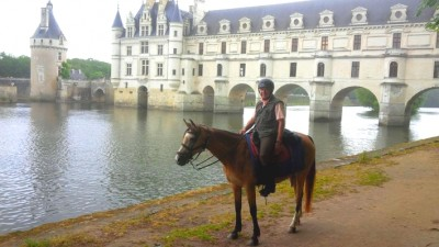 loire valley on horseback