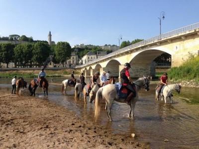 vacances a cheval chateaux de la loire