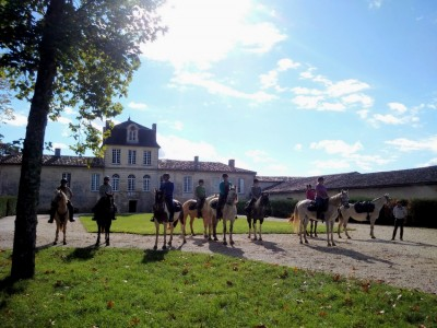 horse holiday bordeaux