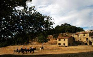 semaine randonnee a cheval en provence