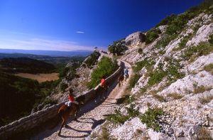 rando a cheval haute provence