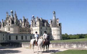 Randonnee Equestre LOIRE - Randonnée Equestre, Voyage 5 jours à cheval : CHATEAUX DE LA LOIRE DE CHAMBORD A CHENONCEAU