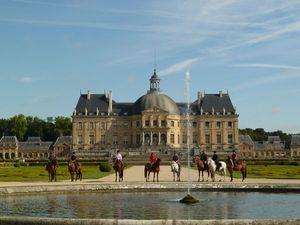 Randonnée à cheval ILE DE FRANCE : ENTRE VERSAILLES ET VAUX LE VICOMTE